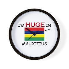 I'd HUGE In MAURITIUS Wall Clock