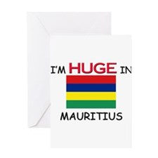 I'd HUGE In MAURITIUS Greeting Card