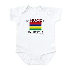 I'd HUGE In MAURITIUS Infant Bodysuit