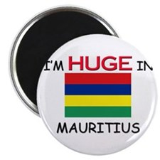 I'd HUGE In MAURITIUS Magnet