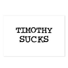 Timothy Sucks Postcards (Package of 8)