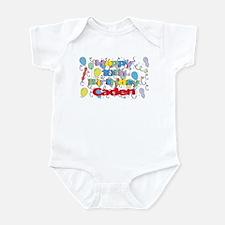 Caden's 10th Birthday Infant Bodysuit