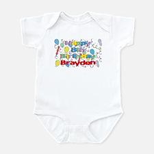 Brayden's 8th Birthday Infant Bodysuit