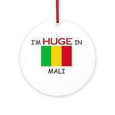 I'd HUGE In MALI Ornament (Round)