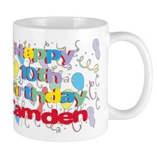 Camden's 10th Birthday Mug