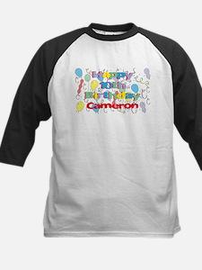 Cameron's 10th Birthday Kids Baseball Jersey