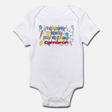 Cameron's 10th Birthday Infant Bodysuit