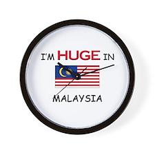 I'd HUGE In MALAYSIA Wall Clock