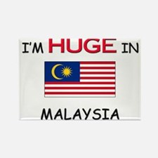 I'd HUGE In MALAYSIA Rectangle Magnet
