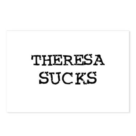 Theresa Sucks Postcards (Package of 8)