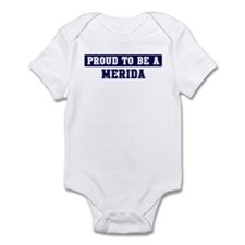 Proud to be Merida Infant Bodysuit
