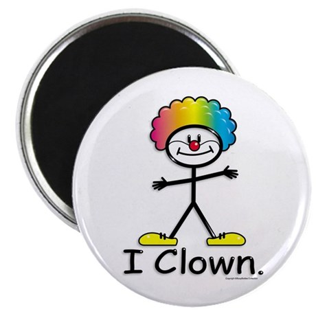 """BusyBodies Clowning 2.25"""" Magnet (100 pack)"""