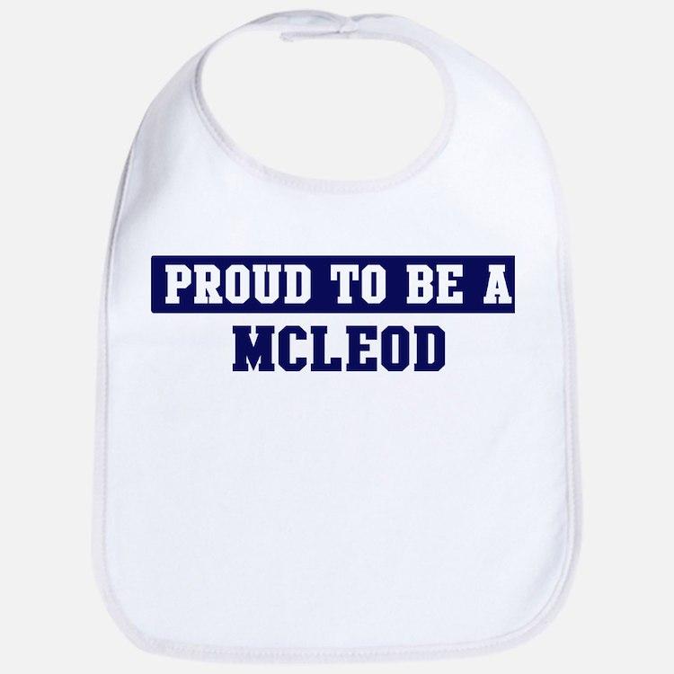 Proud to be Mcleod Bib