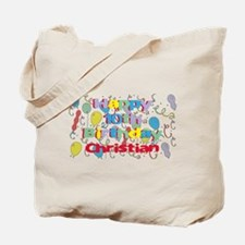 Christian's 10th Birthday Tote Bag