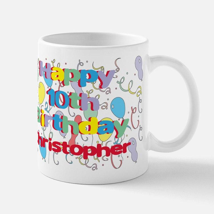 Christopher's 10th Birthday Mug
