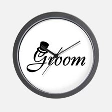 Groom (Top Hat) Wall Clock