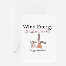 Wind Energy Greeting Card
