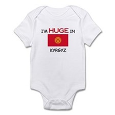 I'd HUGE In KYRGYZ Infant Bodysuit