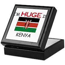 I'd HUGE In KENYA Keepsake Box