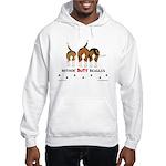 Nothin' Butt Beagles Hooded Sweatshirt