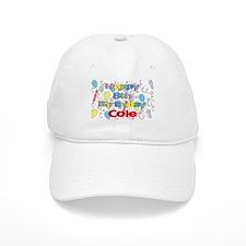 Cole's 8th Birthday Baseball Cap