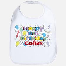 Collin's 8th Birthday Bib