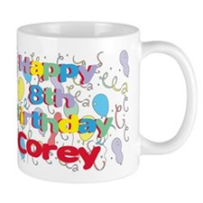 Corey's 8th Birthday Mug