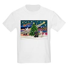 XmasMagic/2 Scotties (P3) T-Shirt