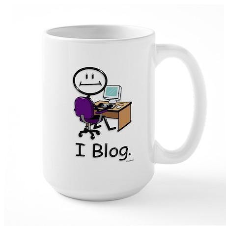 BusyBodies Blogger Large Mug