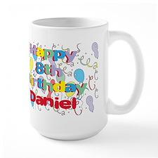 Daniel's 8th Birthday Mug