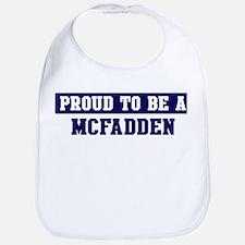 Proud to be Mcfadden Bib