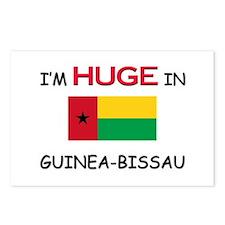 I'd HUGE In GUINEA-BISSAU Postcards (Package of 8)