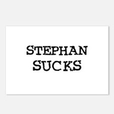 Stephan Sucks Postcards (Package of 8)