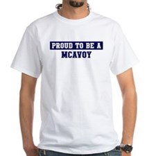 Proud to be Mcavoy Shirt