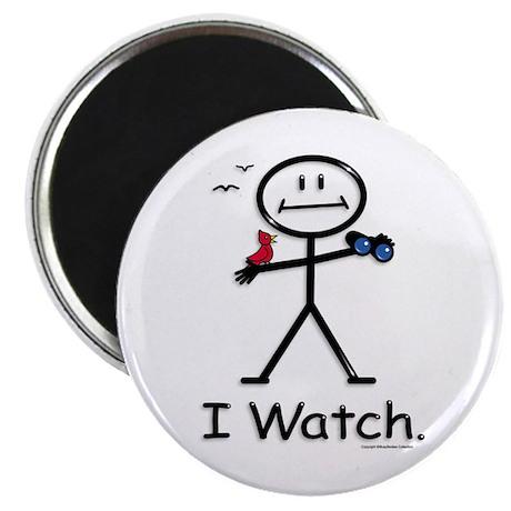 "BusyBodies Bird Watching 2.25"" Magnet (10 pack)"
