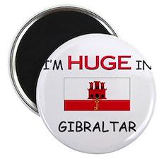 I'd HUGE In GIBRALTAR Magnet