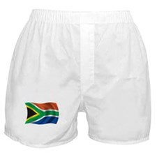 Wavy South Africa Flag Boxer Shorts
