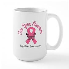Breast Cancer (10 Yrs) Mug
