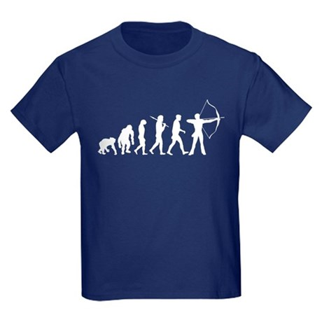 Evolution of Archery Kids Dark T-Shirt