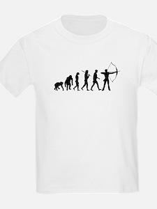 Evolution of Archery T-Shirt