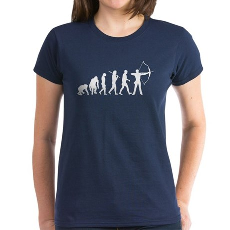 Evolution of Archery Women's Dark T-Shirt