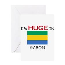 I'd HUGE In GABON Greeting Card