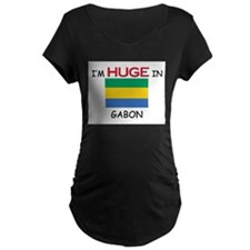 I'd HUGE In GABON T-Shirt