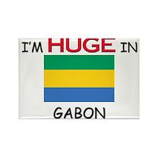 I'd HUGE In GABON Rectangle Magnet