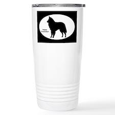 Groenendael Silhouette Travel Mug