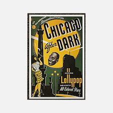 chicago after dark Rectangle Magnet