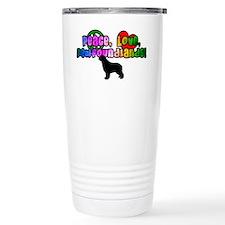 Hippie Newfoundland Travel Mug