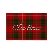Clan Bruce - Just Tartan Rectangle Magnet