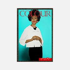 colour feb 1959 Rectangle Magnet