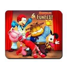 Garfield's Fun Fest Mousepad
